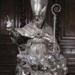 Busto in argento di San Severino (1659, cattedrale di Sant'Agostino)
