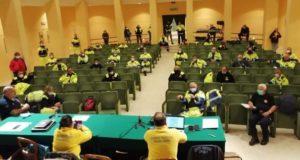 Riunione operativa per coordinare le azioni di prevenzione contro gli incendi boschivi