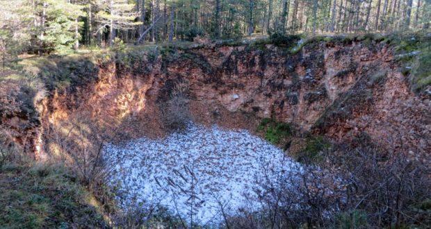 Buca del terremoto (inverno 2016)