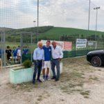 Salvatore Bagni con Riccardo Venturini e Salvatore Bagni