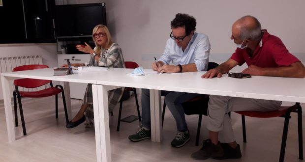 Un momento della riunione del Comitato, coordinata dal vicepresidente Marco Massei e dal segretario Mario Chirielli