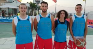 Il quartetto che ha vinto il torneo di Civitanova