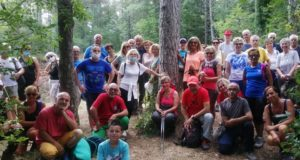 Foto di gruppo per alcuni dei partecipanti