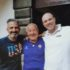 Pacifico Tarquini assieme ai fratelli Nicola e Massimiliano Sparvoli