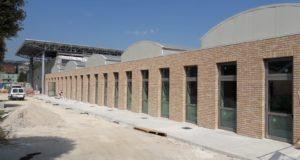 Il cantiere Itis nella parte che ormai sta per essere aperta agli studenti