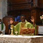 Fra Angelo celebra la messa a Colpersito