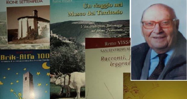 Remo Vissani e la copertina di alcune sue pubblicazioni