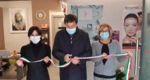 L'inaugurazione del nuovo centro estetico di Gloria Moscatelli