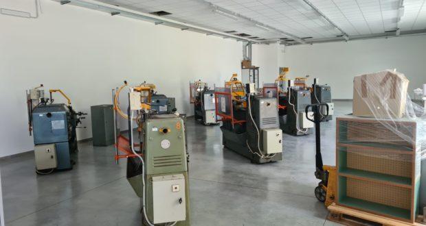 Trasloco nei nuovi laboratori