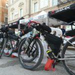 Si riposano anche le bici