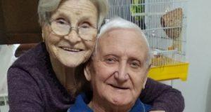 Fedele Cochi con la moglie Rossana