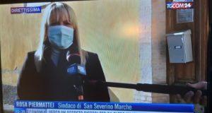 L'appello del sindaco in tv