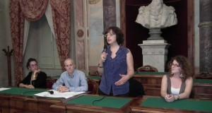 Nella foto: un momento della conferenza stampa in Comune