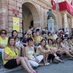 Il flash mob in piazza