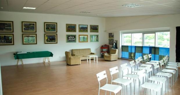 La sede dell'Inter club di San Severino