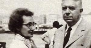 Drusilla Tanzi ed Eugenio Montale