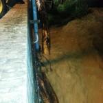 L'intervento al ponte Sant'Antonio