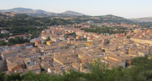 Veduta aerea di San Severino