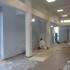 La tinteggiatura dell'aula magna