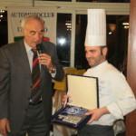 Caglini con lo chef Samuele Giustozzi