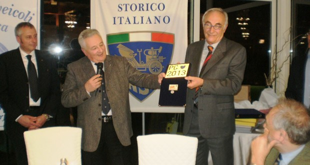 Pietro Caglini con il vice presidente dell'Asi, Maurizio Speziali