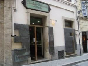 L'antico forno Allegretto, a due passi da Piazza del Popolo