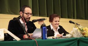 Mariella Scattolini con Francesco Rapaccioni
