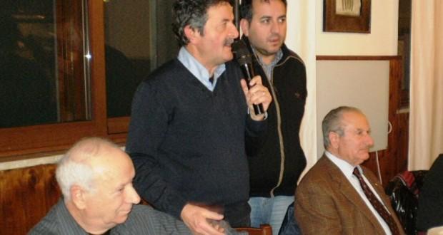 L'intervento del sindaco Cesare Martini