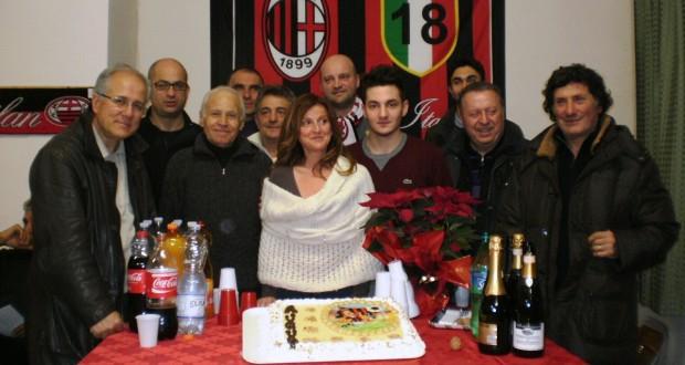 Festa di fine anno per il Milan club settempedano
