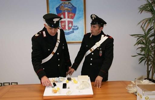 I carabinieri del Nucleo Radiomobile di Tolentino