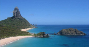 Una delle bellissime spiagge del Brasile
