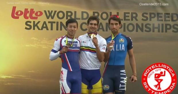 Il podio mondiale di Danny Sargoni