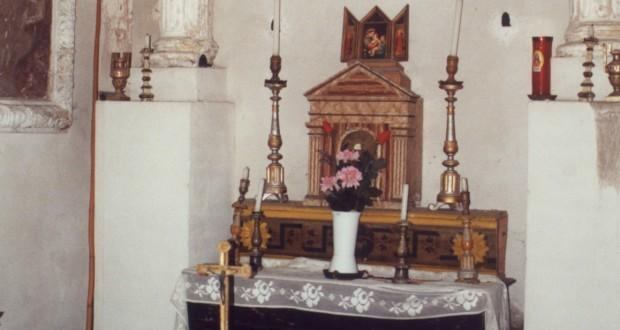 """L'interno della chiesa della """"Pitturetta"""""""