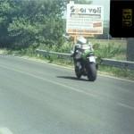 Una moto a 190 km/h
