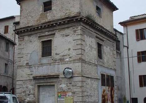 L'ex cabina elettrica nel Borgo Conce