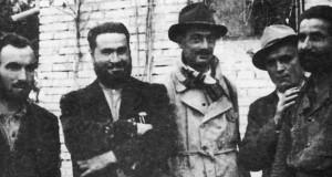 Mattei a San Severino con il veterinario Pioli e i fratelli Dari Mattiacci