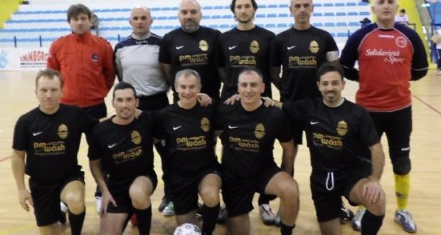 Cardorani, Carducci e Crescentini nella formazione che ha vinto il torneo
