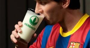 Il calciatore Messi del Barcellona, già testimonial di Herbalife