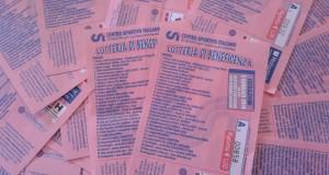 I biglietti della lotteria dell'Epifania del Csi