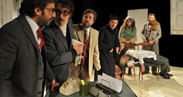Un'immagine dello spettacolo