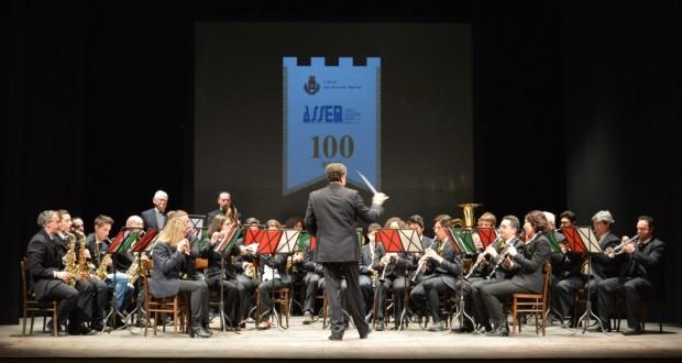 """Il Corpo filarmonico """"Adriani"""" in concerto per i 100 anni dell'Assem"""