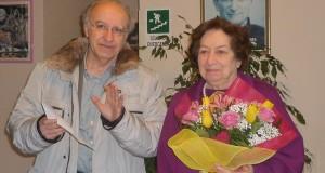 Massimo Altobelli assieme alla presidente uscente Ancilla Tombolini Breccia
