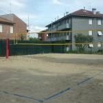 Il campo da beach