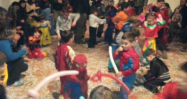 Festa di carnevale a Serralta