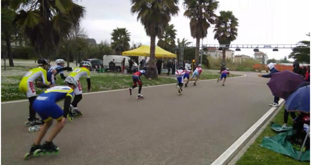 Una delle gare svoltesi a San Benedetto