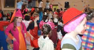 Un momento della festa di Carnevale all'Oratorio