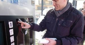 Il distributore di acqua dell'Assem
