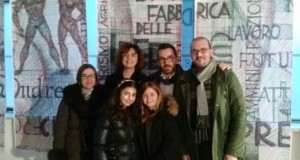 """La delegazione di San Severino alla """"Fabbrica delle idee"""""""