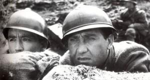 "Una scena del film di Mario Monicelli, ""La grande guerra"""