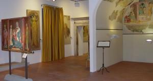 Una sala espositiva della Pinacoteca